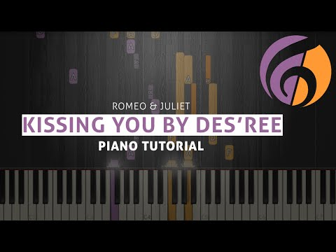 Kissing You (Romeo & Juliet) - Des'ree - Piano Tutorial (Sheet Music & MIDI)