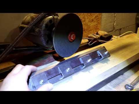Как сделать заточной станок для строгальных ножей своими руками
