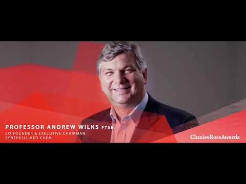 2017 Clunies Ross Entrepreneur of the Year Award -  Professor Andrew Wilks FTSE