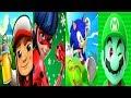Download Subway Surfers 2019 Rio VS Miraculous Ladybug VS Sonic Dash VS Super Mario Run