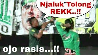 Download Video Ada yang nyanyi Rasis, ini reaksi dirijen Bonek Cak Tessy | Persebaya vs Psms Medan MP3 3GP MP4