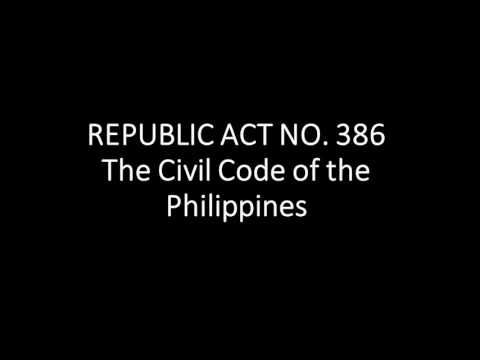 THE CIVIL CODE OF THE PHILIPPINES: Article 1534-1700