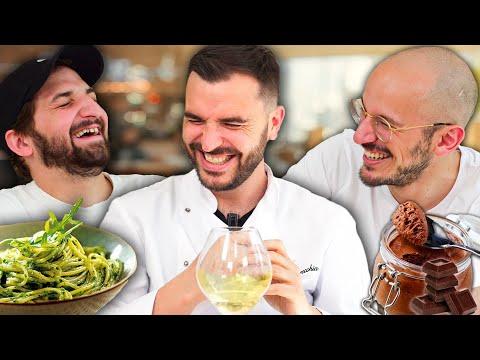 Un repas Extraordinaire : Pesto et mousse chocolat !