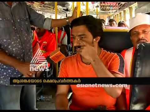 Fireforce from Andhra pradesh and orissa reaches Kottayam for Relief activities