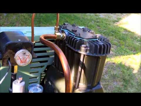 Old Sears Air Compressor Rebuilt You