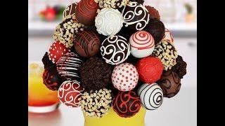 Шоколадные КЕЙК ПОПС - Как приготовить шарики из бисквита на палочке (Cake pops): видео-рецепт