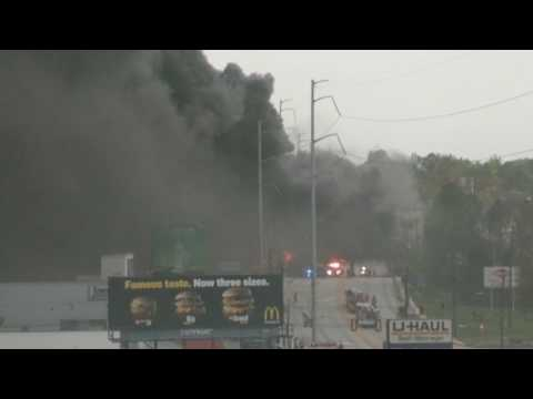 I-85 Fire in Atlanta Part 2