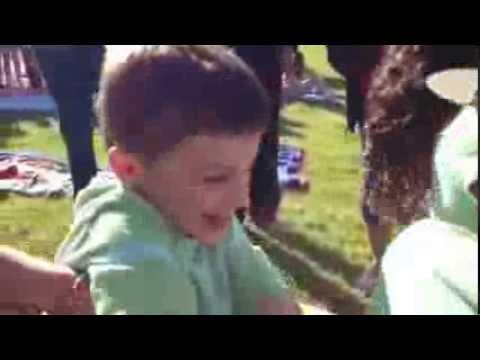 Graham Rathel kindergarten Field Day Tug of War.  Double Churches Elementary School.