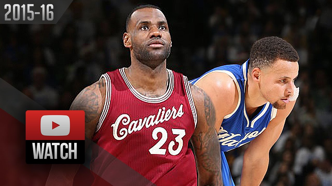 low priced c3be2 5f14e Stephen Curry vs LeBron James Xmas Battle Highlights (2015.12.25) Warriors  vs Cavaliers - EPIC!