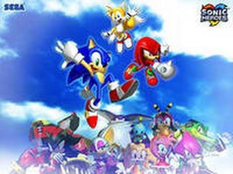 прохождение игры sonic heroes