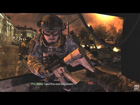 Army Evacuation Mission - Of Their Own Accord - Call of Duty: Modern Warfare 2