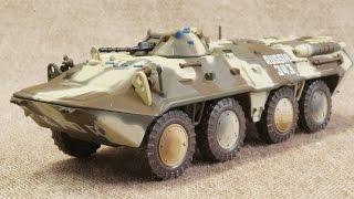 模型 ソビエト BTR-80 装甲兵員輸送車 1/72 金属製