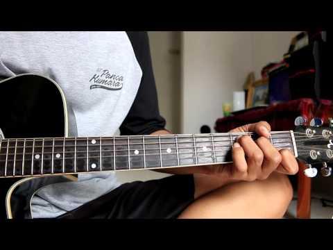 Kunci Gitar - Anji Kekasih Terhebat
