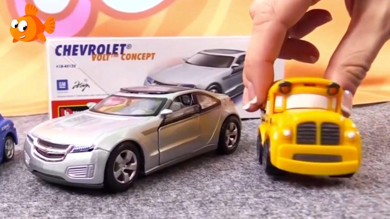 Electric Chevrolet Bburago Demo Toy Car Cartoons For