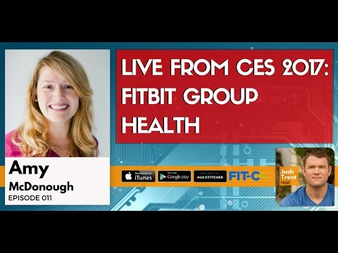 LIVE From CES 2017: Fitbit Group Health & Peloton Virtual Cycling