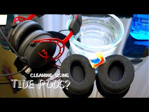How to Clean HyperX Ear Pads - Synthetic Leather, Velour Ear Pad Cleaning