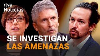 La POLICÍA INVESTIGA las cartas a IGLESIAS, GRANDE-MARLASKA y GÁMEZ | RTVE