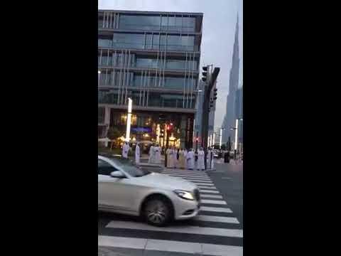 Prime Minister of UAE Highness Sheikh Mohammed bin Rashid Al Maktoum at City Walk Dubai.