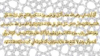 صحيح البخارى - كتاب المغازى - 4452 - باب مرض النبي صلى الله عليه وسلم ووفاته