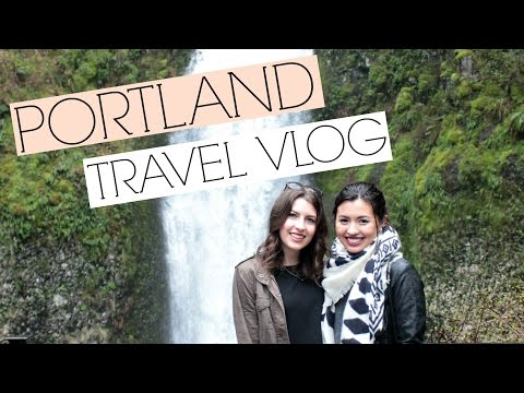 Portland Travel Vlog