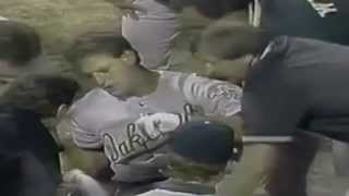 Tony LaRussa yells at reporter in Chicago 1991