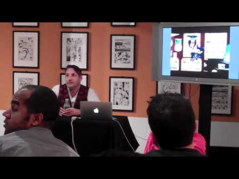 MoCCA Thursdays: Chip Kidd Talks Bat-Manga, Part 5 of 6
