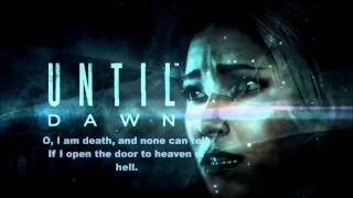 Until Dawn Soundtrack -  O