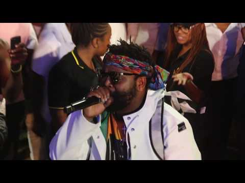 Saudi   Dark Dindy Ft Sjava & Emtee Live Video by on Sjava set at INK HOP FESTIVAL 2017