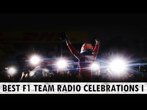 Best F1 Team Radio Celebrations - Part 1