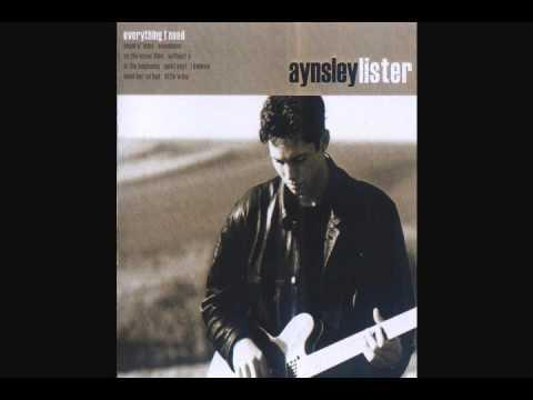 Aynsley Lister Angel O Mine.