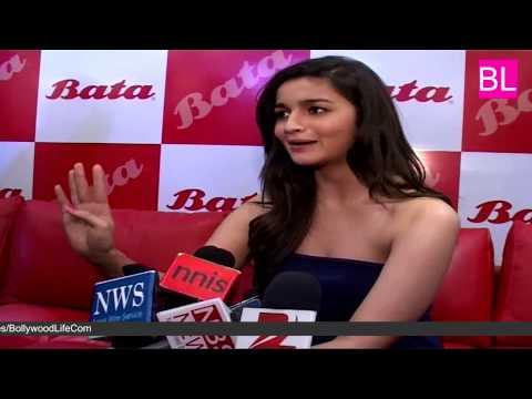 Bollywood actress Alia Bhatt at Bata India's Largest Store Launch at Thane
