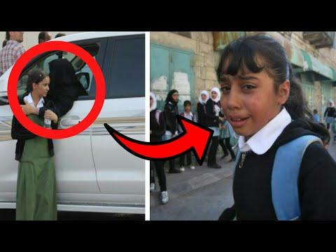 عندما خرجت هذه الطفلة من المدرسة تبكي .. أبكت العالم العربي كله و سوف تبكي انت الآن !! شاهد المفاجئة