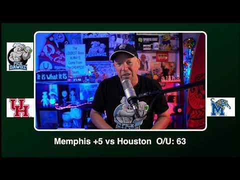 Memphis vs Houston 12/12/20 Free College Football Picks and Predictions CFB Tips