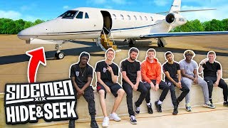 SIDEMEN HIDE & SEEK ON A PRIVATE JET