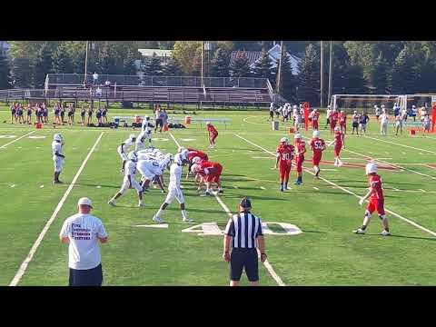 North Plainfield High School Jr. Varsity Football game vs Governor Livingston High School