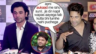 Krishna Abhishek Makes FUN Of Sunil Grover For Using Kapil Sharma's Depression To Get New Shows