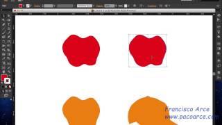 Seleccionar objetos en Illustrator CS6