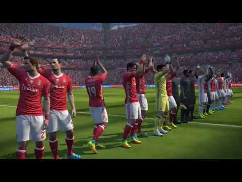 PES 2017: SL BENFICA - AJAX (PC 1080p 60fps Stadium Crowd Patches)