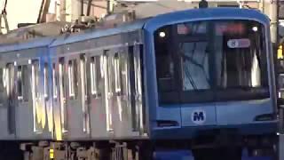 横浜高速鉄道みなとみらい線Y500系Y512F菊名4号踏切通過