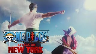 """WE ARE!"" One Piece (2018) - Attack On New York Music Video ♫ (Fan-made Cover)"