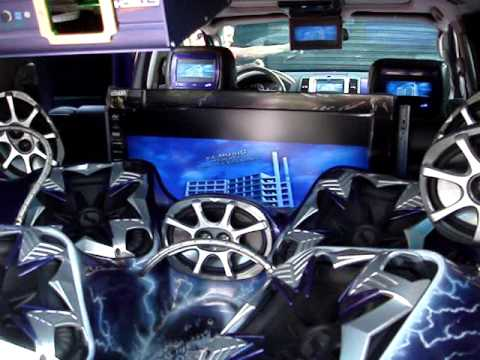 City car audio nissan pathfinder kamaleon youtube for Sunny king honda oxford al