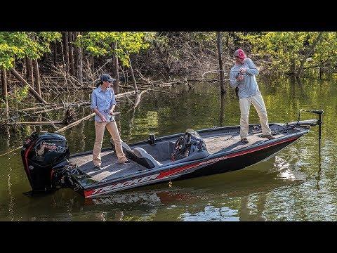 TRACKER Boats: 2018 Pro Team 190 TX Aluminum Bass Boat