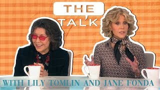 Jane Fonda and Lily Tomlin answering weird questions and talking Grace and Frankie | The Talk