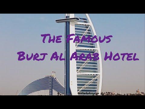 DUBAI FAMOUS BURJ AL ARAB & JUMEIRAH BEACH