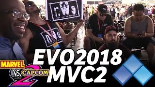 EVO 2018 MvC2 WEST vs EAST Coast - SANTHRAX JTRON DUC VDO KHAOS XECUTIONER