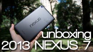 2013 Nexus 7 - Rozpakowanie w Central Parku - Unboxing - Google / Asus