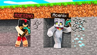 MINECRAFT: ACENIX vs 1 ASESINO 😱🔪 MINECRAFT SPEEDRUN con INVICTOR