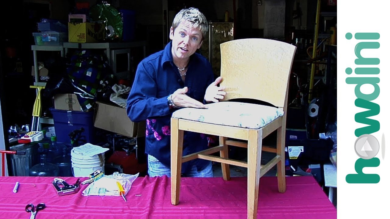 How To Upholster Reupholster A Dining Room Chair