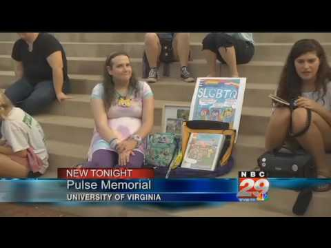 UVA Students Hold Memorial Service for Pulse Nightclub Victims WVIR Charlottesville VA News Sports a