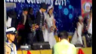 "5th Class Student PerforminG On ""Welcome Song"" At The Annual Function Of  WRGSS 2011"
